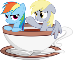 Come on in, the tea is fine! by CrimsonLynx97