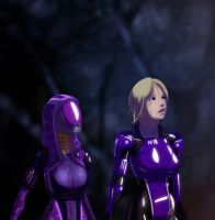Tali and Shepard Look by Badspot