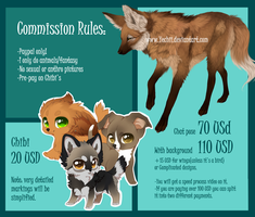 Commission Info-OPEN by Yechii