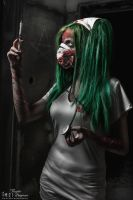 I heard that Zombies ate her brain. by AbsinthiaStacy
