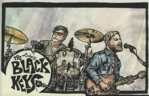 the Black Keys by LeftHandedMutant