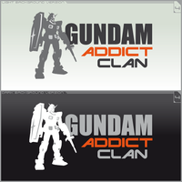Logo Gundam Addict Clan Ver.4 by ogamitaicho