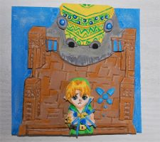 legend of Zelda diorama 3 by knil-maloon