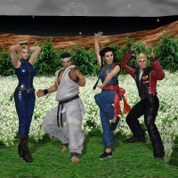 Virtua Fighter Together at Last by KoDraCan