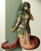 Lamia Uguu... by CrimsonKanji
