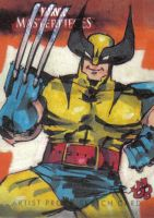 MM3 artist proof WOLVERINE by jasinmartin