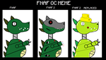 Cruncher then and now by FunnyGamer95