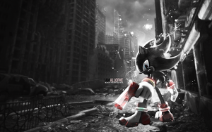 Shadow the Hedgehog Wallpaper by RAYAHH