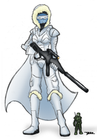 Alaerian Snow Trooper by Blazbaros