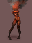 Volcano Eruption - Humanization by Anislayer