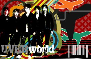 UVERworld Wallpaper by Shikimori23