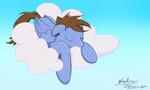 Sleepy Pony by A-Wandering-Dragon