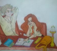 Studying by Estelior