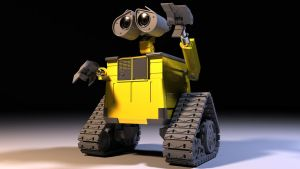 WALL-E finished model by MishaART