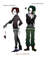 Mike and Red Goth_I really... by haru-tu