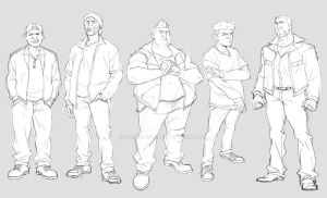 Characters for animation by ifesinachi