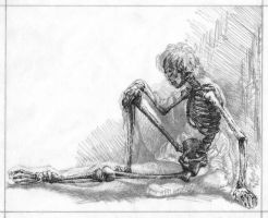 Skeleton Study Final by TobyRM