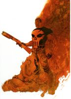 Punisher cover no.71 Step 4 by Devilpig