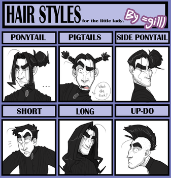 Snape: Hair Styles Meme by gilll
