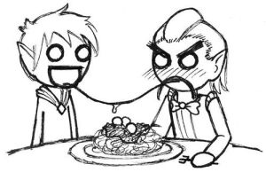 A Very Romantic Dinner by StyxTheMad