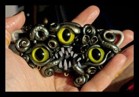 Shoggoth pendant by absynthia
