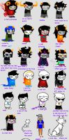 homestuck to my lil 6y old sis by animecat237