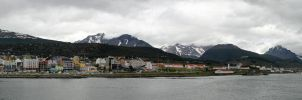 Ushuaia Argentina Panorama by greenjinjo