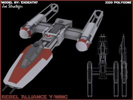 Rebel Alliance Y-wing by Exdeath