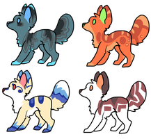 Canine Adopts OPEN by AnamayCat
