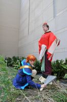 Fushigi Yuugi - Tasuki and the Emperor by EveilleCosplay