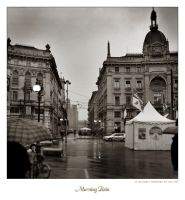 Moring Rain in Milano by leo723