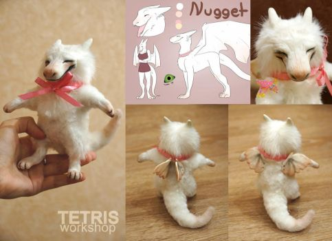 Nugget the dragon mini toy 1 by KrafiCat