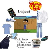 Baljeet polyvore set by mexicangirl12