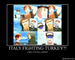 Italy Fighting Turkey?! by Roronoa-D-Riku