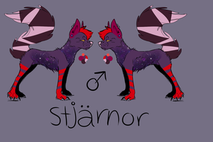 Stjarnor custom. by BornfromSugar