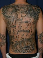 Pirate Ship by KMarr
