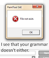 Grammar not exist by CopyCatted