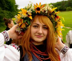 Ukrainian girl 10 by Elkinei