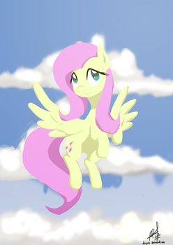 Fluttershy - Sky by digiral