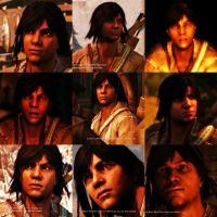 Connor Kenway Collage by missxmello