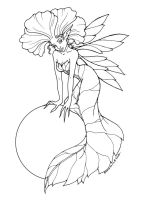 Fairy Coloring Page - sample by MisticUnicorn