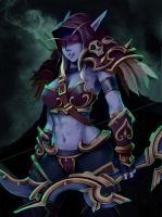 Lady Sylvanas by keelsama