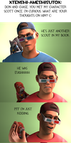 Ask CnD No. 219: Scott the Cutie by ZeFlyingMuppet