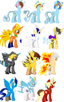 My little Hetamon vectors .:FINALLY DONE:. by PrincessCelestia908