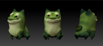 Bulbasaur Zbrush by Cryptid-Creations