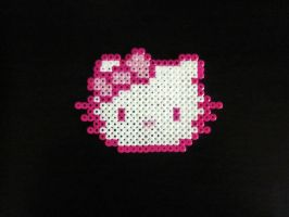 Perler Beads: Hello Kitty by AlyciaZU