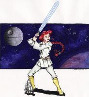 What If Ariel were a Jedi by ShannonValentine