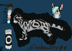 Shadowstripe (updated) by Bloodshadewolves