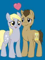 Derpy And The Doctor by Wornox