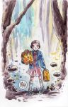 Watercolor: Eleven by mikemaihack